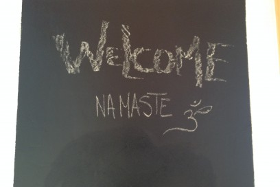Willkommen – gute Zeit beim Klettern & Namasté!