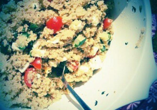 orientalischen Couscous-Salat