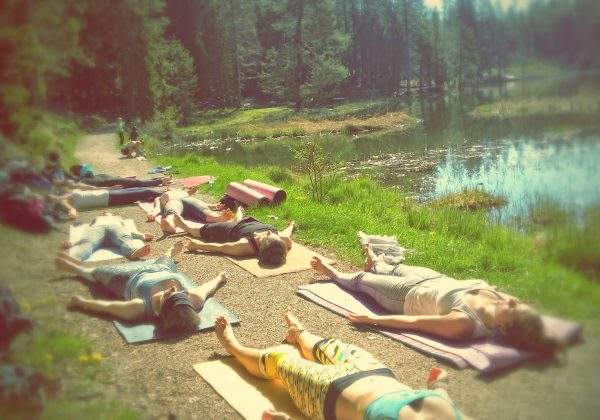 Yoga am Möserer See!