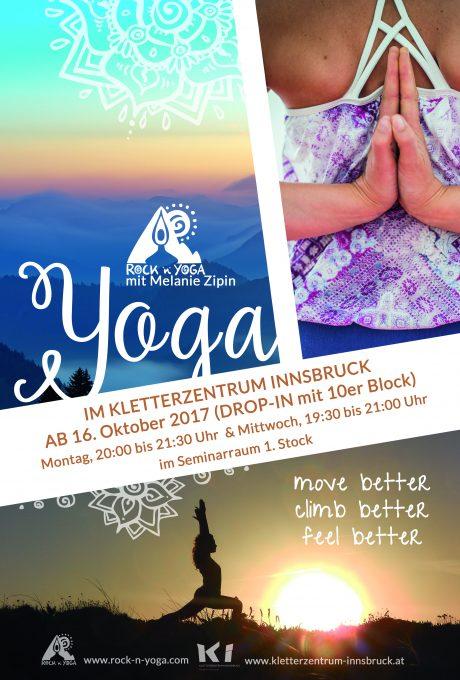 Yoga im Kletterzentrum Innsbruck