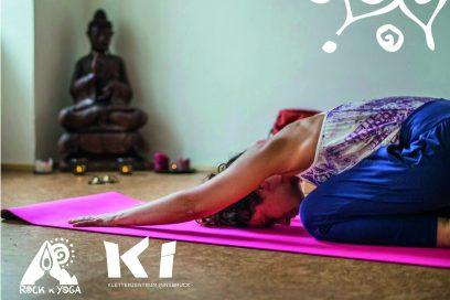 Neu: Yoga im Kletterzentrum Innsbruck